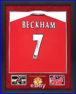 Signed Beckham 7 Shirt
