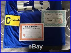Signed John Terry Chelsea Shirt And Armband