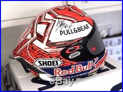 Signed Marc Marquez 2018 Shoei X-spirit 3 Replica Helmet. Stunning