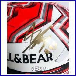 Signed Marc Marquez Helmet Shoei X Spirit 3 & Race Visor 2019 MotoGP