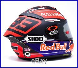 Signed Marc Marquez Helmet Shoei X Spirit 3 & Used Visor 2019 MotoGP