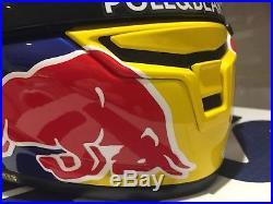 Signed Marc Marquez Shoei X-spirit 3 Hand Painted Helmet. Stunning