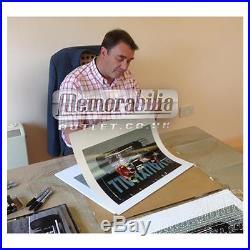 Signed Nigel Mansell Limited Edition F1 Framed Print Taxi AYRTON SENNA COA