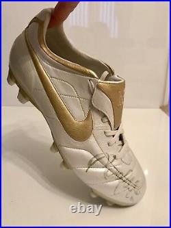 Signed Ronaldinho Boot