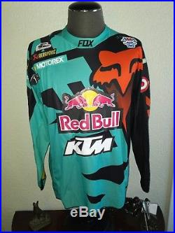 Signed authentic race jersey ryan dungey ktm supercross