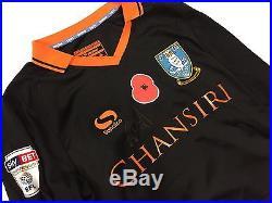 Sky Bet Poppy Auction 9. Adam Reach (1/2) MW, signed Sheffield W shirt