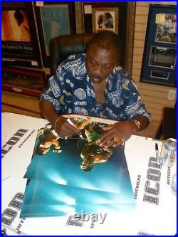 Smokin Joe Frazier Signed 16x20 Photo PSA/DNA COA Muhammad Ali Picture Autograph