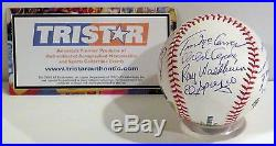St. Louis Cardinals 1967 Team Signed World Series Champions Baseball TriStar