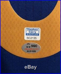 Stephen Curry Autograph Golden State Warriors Signed Swingman Jersey (Curry COA)