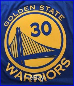 Stephen Curry Autographed Golden State Warriors Signed Swingman Jersey CURRY COA