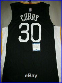 Stephen Curry Signed Autographed Golden State Warriors Jersey Bas Coa G35029