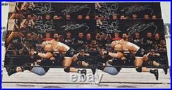 Stone Cold Steve Austin & Bill Goldberg Signed WWE 16x20 Photo BAS Beckett COA 3