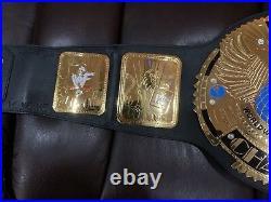 Stonecold Steve Austin & Undertaker Signed WWF Big Eagle Championship Belt COA