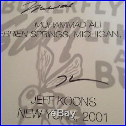Taschen GOAT Muhammad Ali Signed By Ali And Jeff Koons 70 Pounds