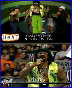 The Godfather Signed WWE Ring Worn Used Pimp Vest PSA/DNA LOA Pro Wrestling Star
