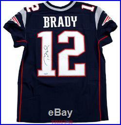 Tom Brady Signed Auto New England Patriots Authentic Nike Jersey Tristar COA