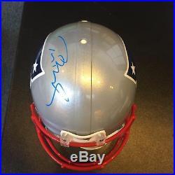 Tom Brady Signed New England Patriots Full Size Helmet Steiner & Tristar COA