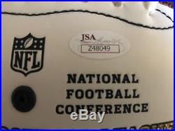 Tom Brady Signed Patriots Football (JSA COA)