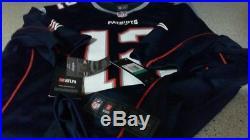 Tom brady signed patriots nike jersey tristar