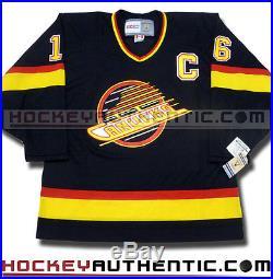 Trevor Linden Signed Vancouver Canucks 1994 Skate Jersey CCM Vintage