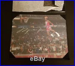 UDA Michael Jordan Signed Autographed 8x10 1988 Gatorade Slam Dunk MINT