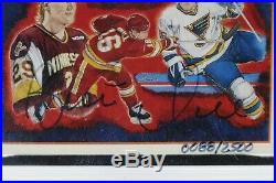 Upper Deck Signed 1991 Hockey Heroes Card 9 Brett Hull Autographed Certified #88