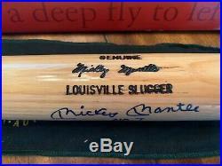 Upper Deck Signed Mickey Mantle Baseball Bat