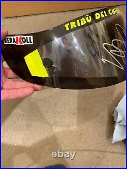 Valentino Rossi Hand Signed Genuine AGV Visor