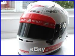 Vettel 2014'test' 1/2 scale helmet + Vettel Ferrari SF15 1/12 signed nosecone