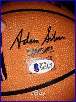 Vince Carter Signed NBA Spalding Basketball Auto Beckett Witnessed BAS Raptors
