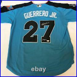 Vladimir Guerrero Jr Ramos Full Name Signed All Star Game Futures Jersey JSA