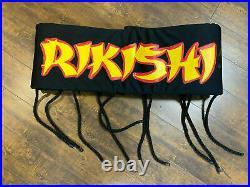WWE WWF Rikishi Ring Worn Sumo Belt Signed WWE Hall of Fame