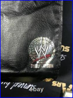 WWE Wrestlemania 20 ring used Chris Benoit autographed Turnbuckle COA from WWE