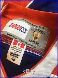 Wayne Gretzky Signed NHL Edminton Oilers Jersey Wga Authentic Autograph Auto