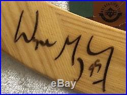 Wayne Gretzky Uda Signed Hespeler Hockey Stick Uda Coa & Matching Holograms