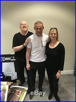 Wayne Rooney Hand Signed England Shirt £99