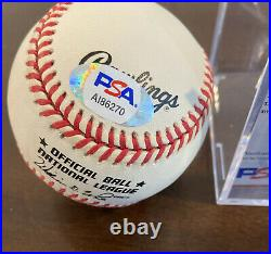 Willie Mays PSA DNA COA Autograph National League ONL Auto Signed Baseball