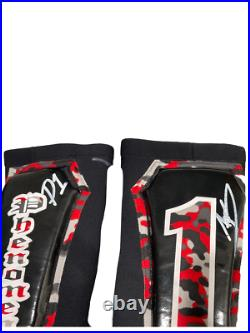 Wwe Aj Styles Ring Worn Hand Signed Vest Tights And Pads With Proof And Coa P1