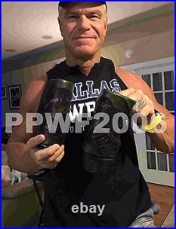 Wwe Billy Gunn Hand Signed Ring Worn Knee Pads With Proof And Coa DX 2