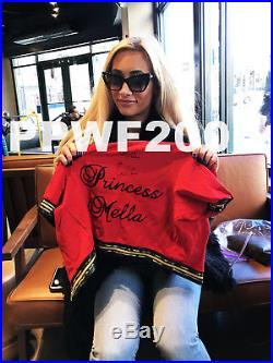 Wwe Carmella Ring Worn And Hand Signed Backlash 2017 Outfit With Proof And Coa