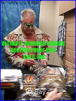 Wwe Hulk Hogan & Ultimate Warrior Dual Signed Classic Superstars Onsite Proof