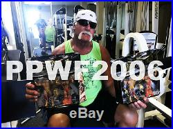 Wwe Ultimate Warrior And Hulk Hogan Hand Signed Classic 2 Pack With Proof & Coa