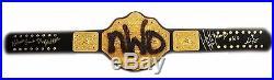 Wwe Wcw Hulk Hogan Nwo Signed World Heavyweight Belt With Exact Proof & Coa