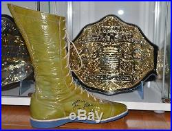 Wwe ric flair Starrcade 83 ring worn boot signed