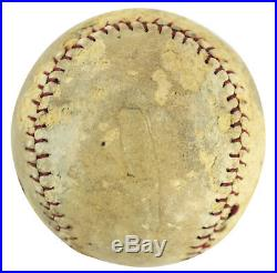 51754f8ef Yankees Babe Ruth Authentic Signed Baseball Autographed PSA DNA  X04919